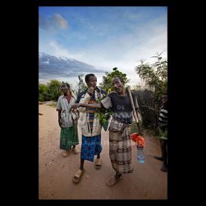 Lavoratori nel villaggio di Genda Ahmed, nella valle di Aredda Ibssa
