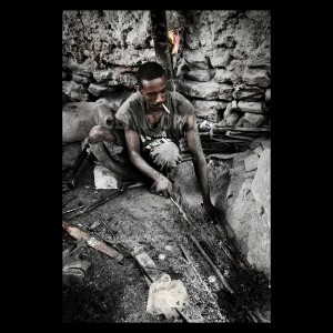 Harar - fabbro somalo